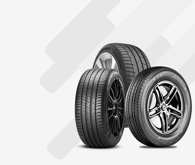 Tyre for mileage